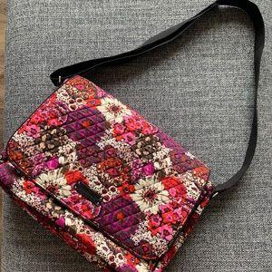 Vera Bradley Rosewood Laptop Messenger Bag